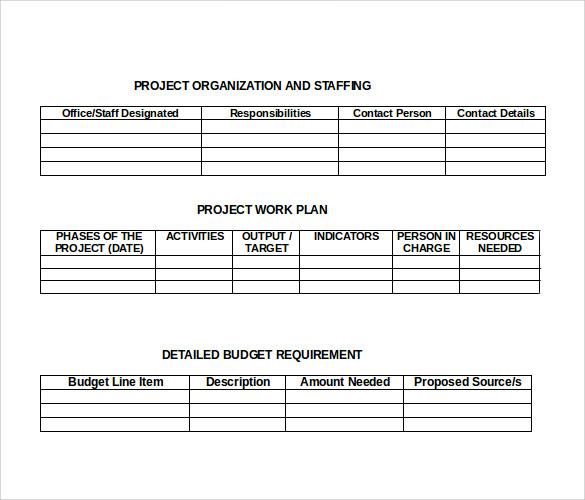 18 Formal Proposal Samples Sample Templates