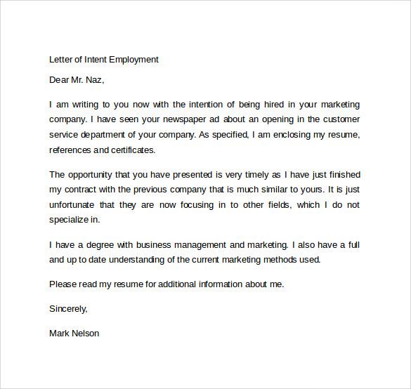 online letter template