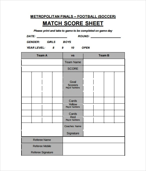Best Soccer Stat Sheet Template Images >> 50 Best Of Golf Stats ...