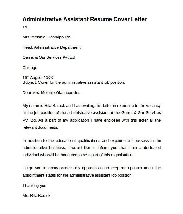 example cover letter for resume for medical assistant