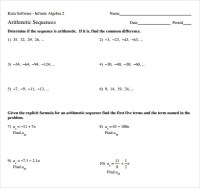 Counting Number worksheets  Worksheets Sequences And ...