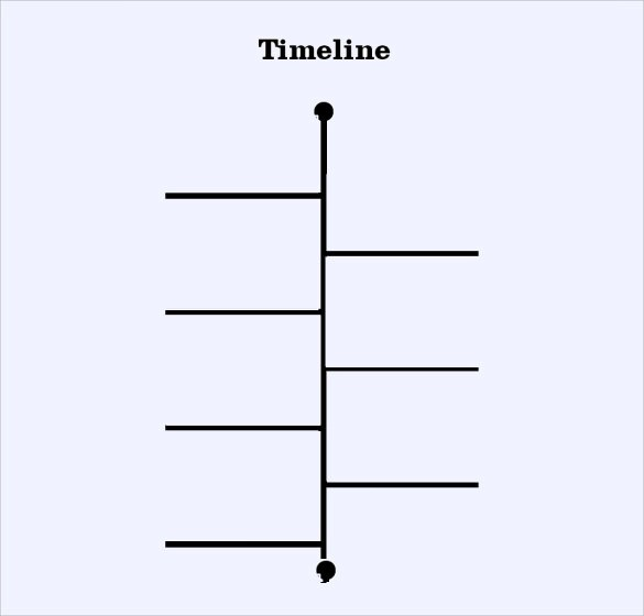 Timeline Template for kid