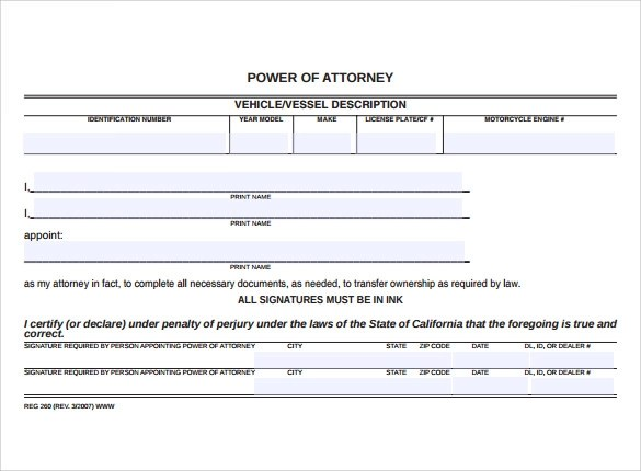 free printable power of attorney form california  Power Of Attorney Form Wisconsin Free | Certificate ...
