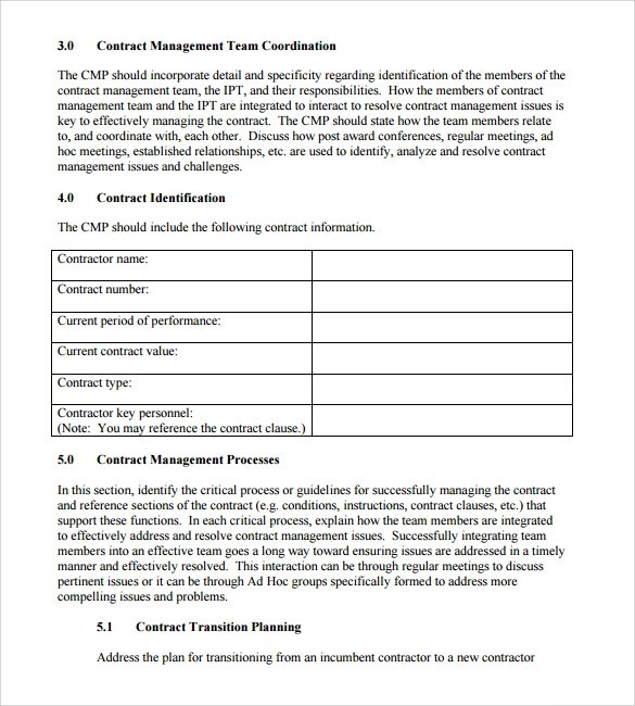 contract summary template - April.onthemarch.co