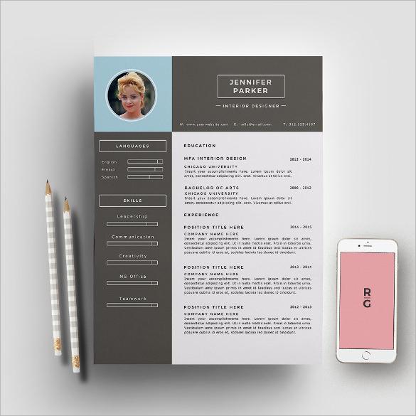 interior design resume template resume sample - Interior Design Resume Samples
