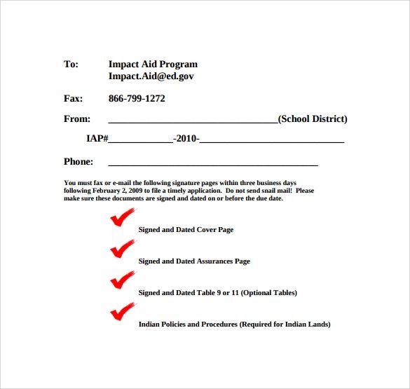 template for fax cover sheet