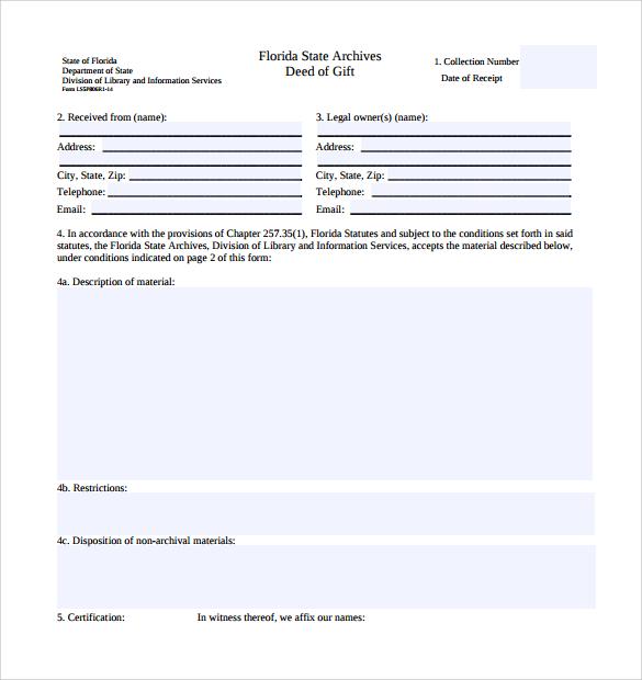Sample Deed Of Gift Land In Jamaica | Dealssite.co