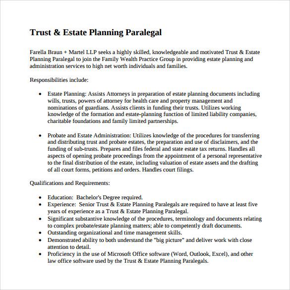 sample resume paralegal corporate law