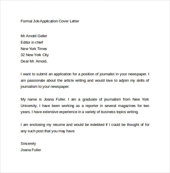Cover Letter For Government Position: Queensland Government Job Application Cover Letter