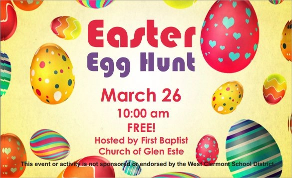 13 Easter Invitations Templates Sample Examples