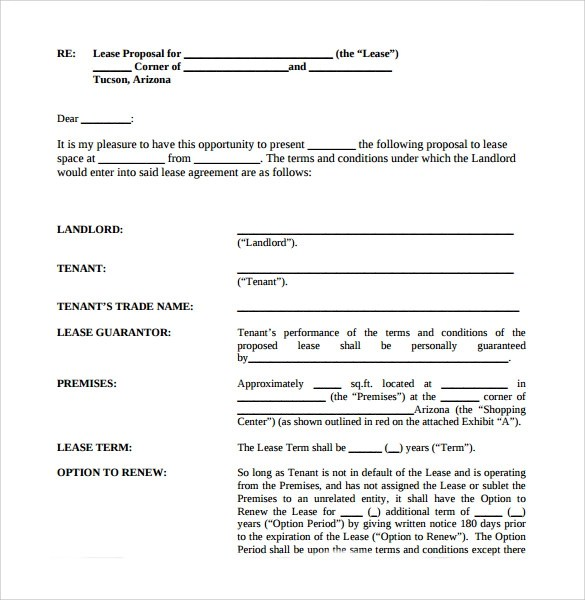 Long Term Lease Agreement Template