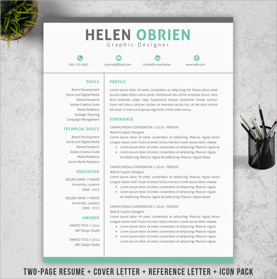 14 Resume Cover Pages  Sample Templates