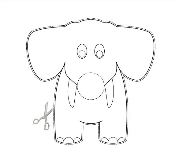Elephant Trunk Template