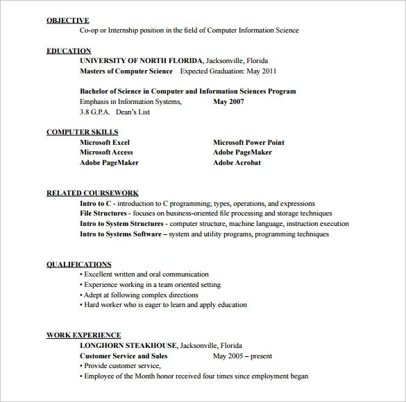 customer service resume without experience