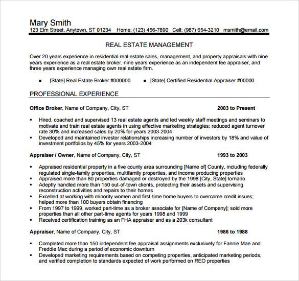 real estate clerk resume sample