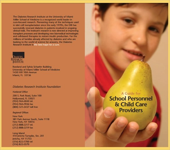 13 Diabetes Brochure Templates  PSD PDF
