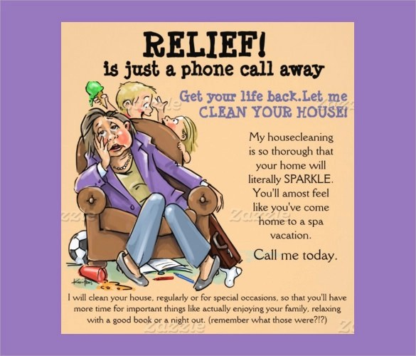 House Cleaning Flyers Template 11 Download Documents In Vector EPS