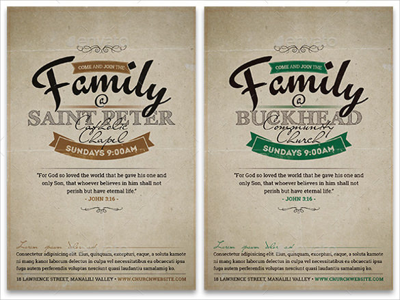 19 Invitation Flyer Templates EPS PSD AI