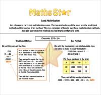 Multiplication Worksheets  Long Multiplication Worksheets ...