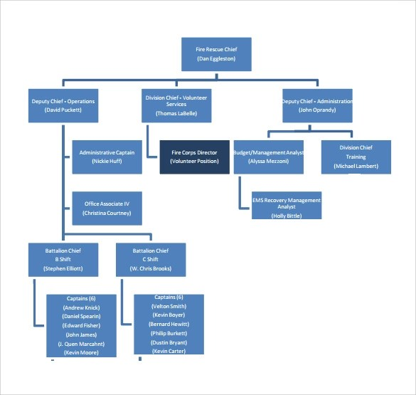 Share & bookmark press enter to show all options, press tab go to next. Free 12 Sample Fire Department Organizational Chart Templates In Pdf
