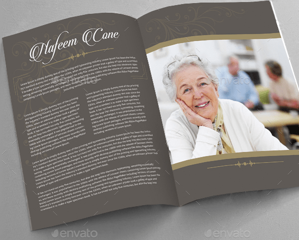 19 Funeral Brochure Templates Sample Templates