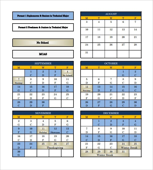 Sample Rotation Schedule Template  15 Free Documents in PDF Word