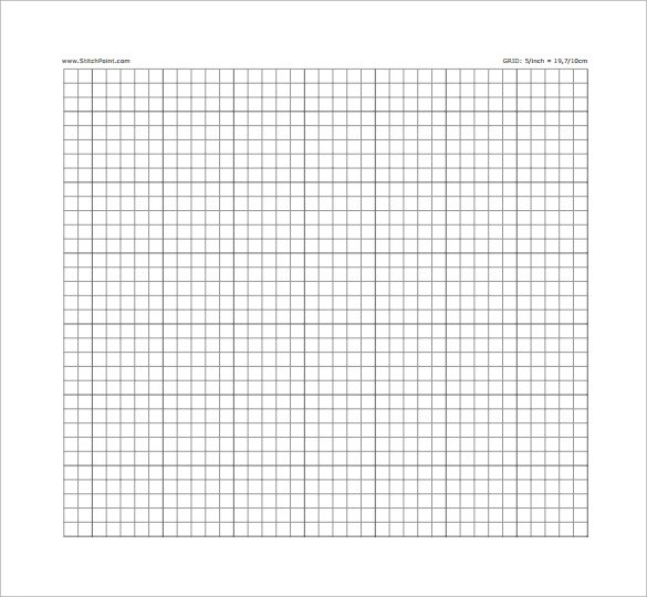 Sample Cross Stitch Graph Paper  6 Free Documents in PDF