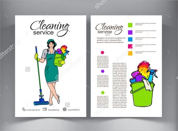free house cleaning flyers