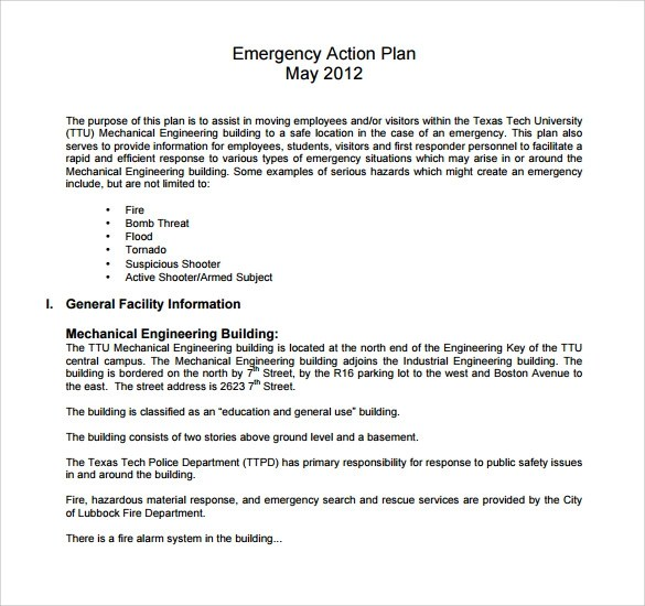 Employee Action Plan Template 8 Download Documents In PDF