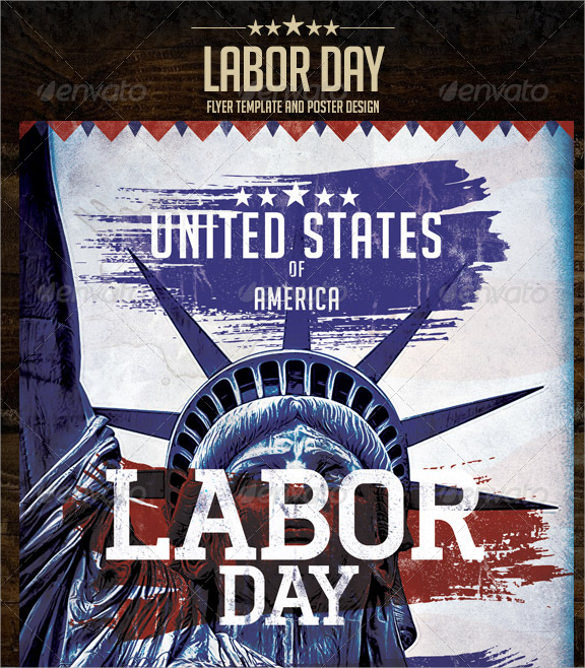 12 Labour Day Flyer Templates  Sample Templates