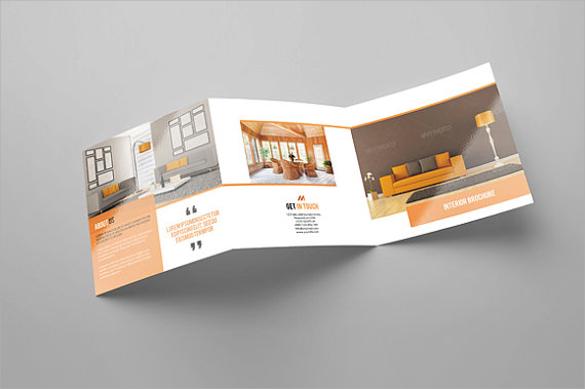 21 Interior Design Brochures Sample Templates