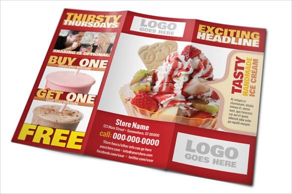 21 Restaurant Brochures Sample Templates
