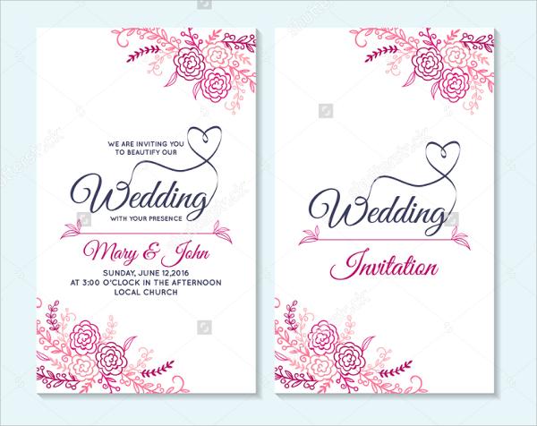 26 Wedding Flyer Templates Word PSD AI EPS Vector