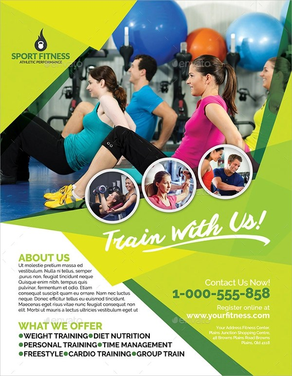 21 Fitness Flyer Templates Sample Templates