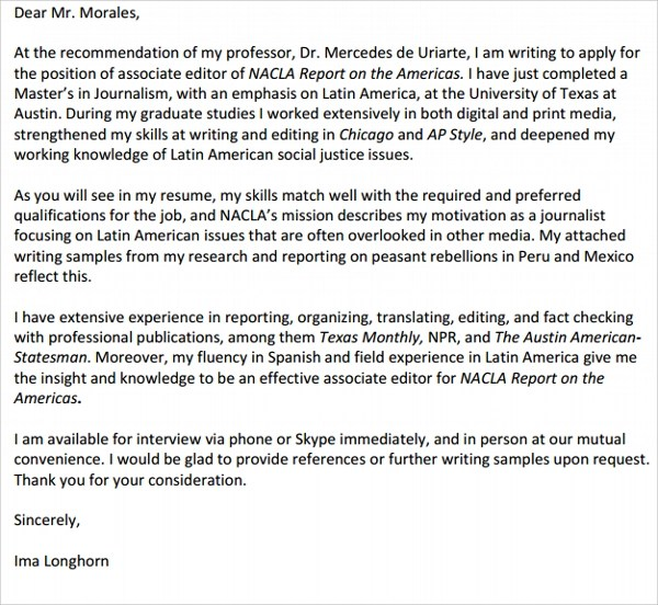 emailing resume and cover letter example cover letter examples ...