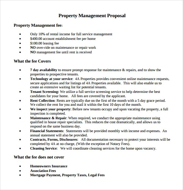 14 Property Management Proposal Templates To Download