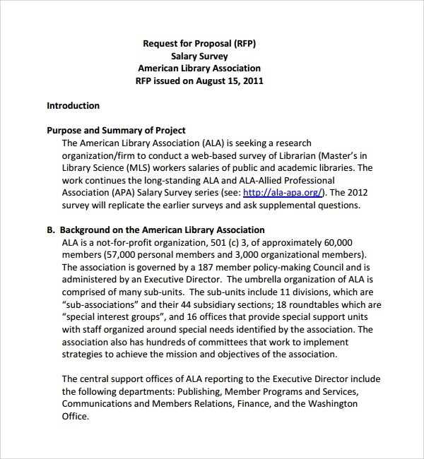 Sample Salary Proposal Template  9 Free Documents in PDF