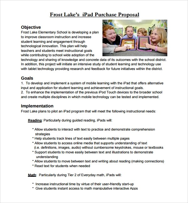 15 Purchase Proposal Templates Sample Templates