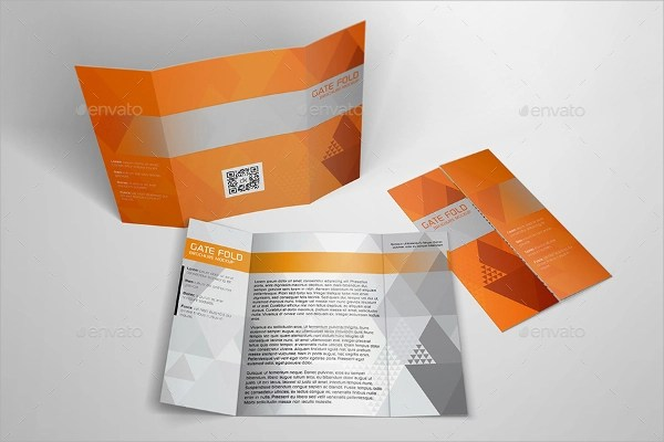 21 Gate Fold Brochure Mockups Sample Templates