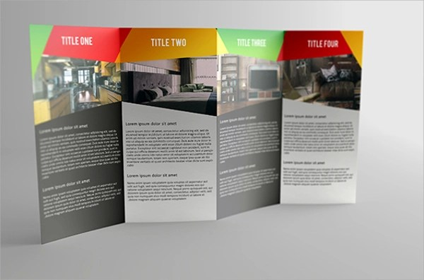 22 Gate Fold Brochure Template AI PSD Google Docs Apple Pages