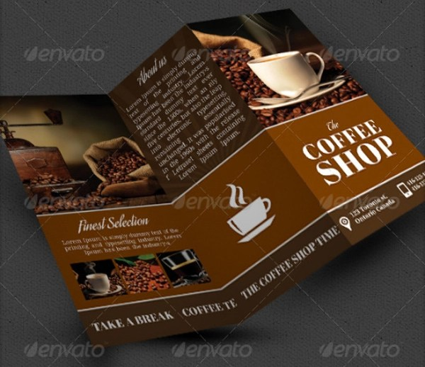 13 Coffee Shop Brochure Templates Sample Templates
