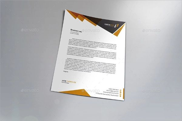 template for business letterhead
