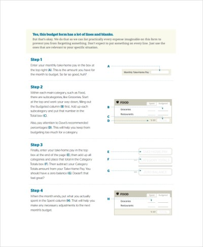 Sample Cash Budget Template -9+ Free Documents Download in ...