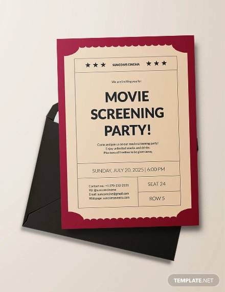 ticket invitation templates in psd