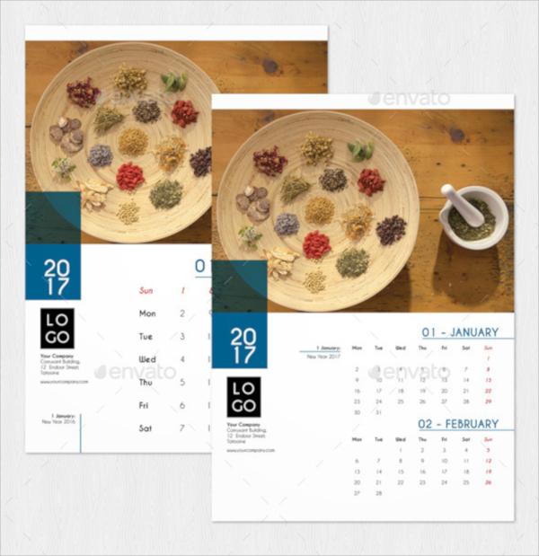21+ Wall Calendar Templates | Sample Templates