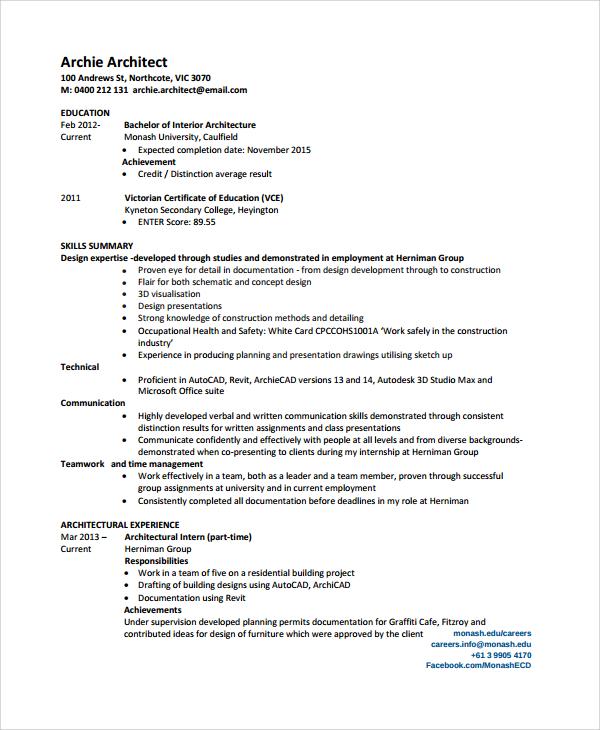 25+ Sample Resumes | Sample Templates