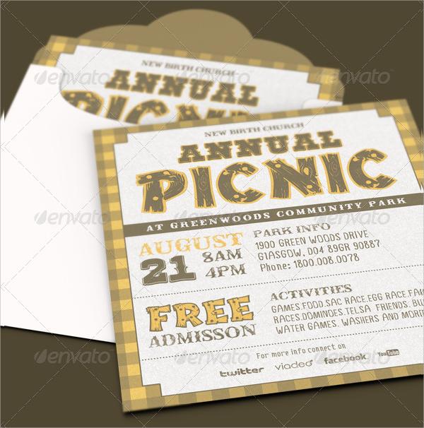 picnic invite template