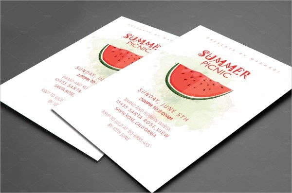 15+ Picnic Invitations | Sample Templates