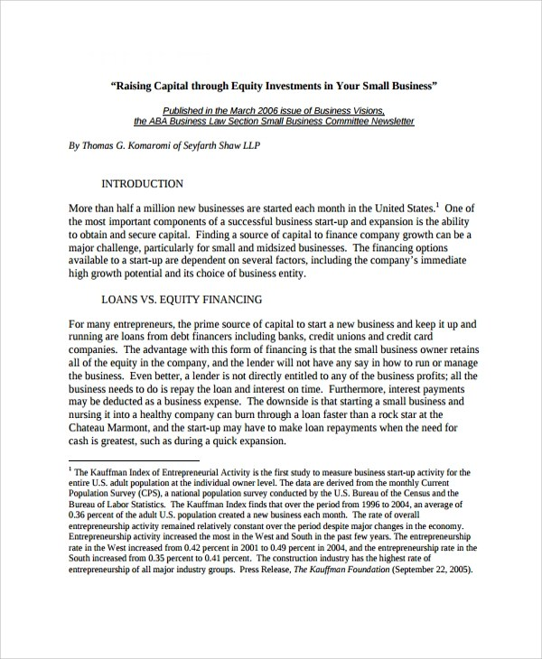 Sample Business Investment Agreement  15 Documents in PDF Word