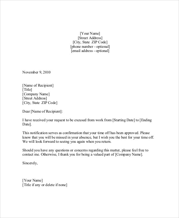 Format Of Request Letter Pdf - Cover Letter Templates